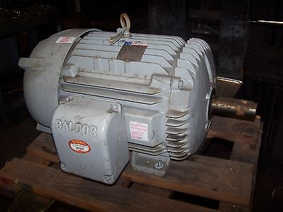New Baldor 20 Hp Ac Electric Motor 286U Frame 1760 Rpm 460 Vac Aem2334-4 Te
