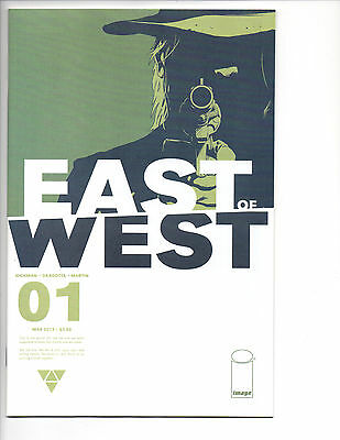 East of West #1 First Printing Hickman Dragotta NM Comic