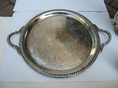 Wm. Rogers Silverplate Serving Tray 7032