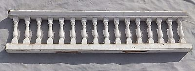 "Antique 65"" Wood Porch Spindle Span Gingerbread Victorian Architecture 1977-16"