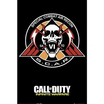 Official Licensed Product Call Of Duty Infinite Warfare Poster Scar Wall Gift