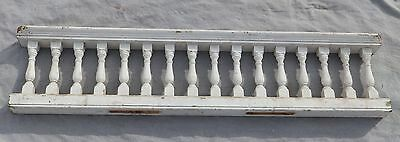 "Antique 65"" Wood Porch Spindle Span Gingerbread Victorian Architecture 1978-16"