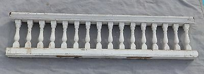 "Antique 65"" Wood Porch Spindle Span Gingerbread Victorian Architecture 1979-16"
