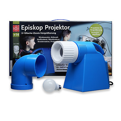 Neu- LED Episkop Bildbetrachter Bildwerfer Wandmalerei Windowcolor Airbrush