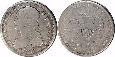 1833 Capped Bust Quarter ** Circulated **   Reduced Size