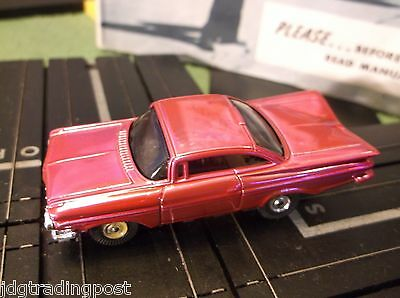 MINT Impala Slot Car AURORA MoDEL MoToRING Chassis for T Jet Race Track Sets
