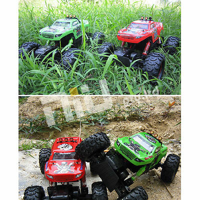 NQD 1:12 Rock Crawler King Remote Control Monster Truck RC 4WD Car Recharge Gift