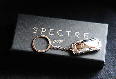 JAMES BOND 007 Jaguar C-X75 SPECTRE Promotional Keychain Keyring