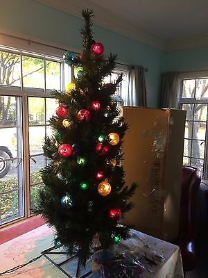 FRONTGATE Holiday Collection 4' Anchorage Artificial Tree 33024 Indoor & Outdoor