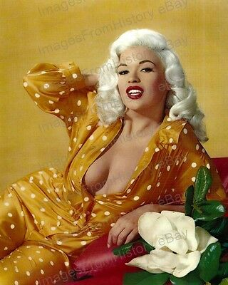8x10 Print Jayne Mansfield Beautiful Illustrated Color Portrait #JM70