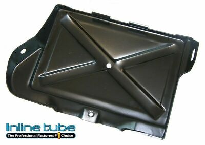 1968-72 Pontiac GTO Lemans Firebird Battery Tray Painted Black All V8 Cars NOSR