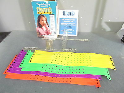 THUMB GUARD Treatment Kit to Stop Thumb Sucking TGuard Size 5+ years, 31 bands