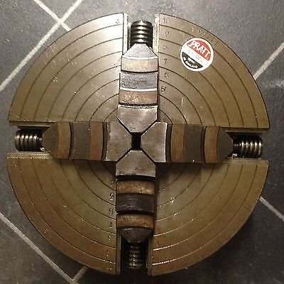 """Colchester Student Master LO 4 JAW INDEPENDENT CHUCK PRATT 10"""""""
