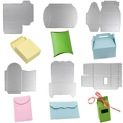 Candy Gift Box Metal DIY Cutting Dies Stencil Scrapbook Album Paper Card Decor