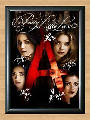 Pretty Little Liars Ashley Benson Signed Autographed A4 Photo Print Memorabilia