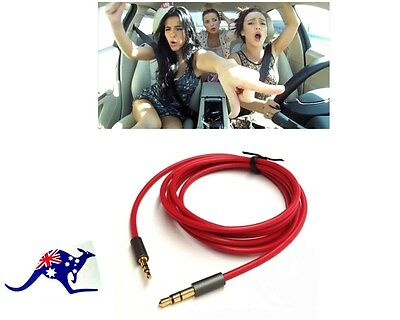 3.5mm Male to 2.5mm 3Pole Male Car Aux Audio Cord Headphone Connect Record Cable