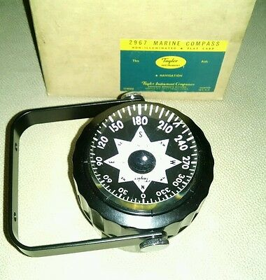 Taylor Marine Compass #2965 never used in original box