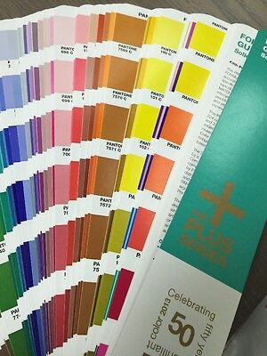 Pantone Plus Formula Guide Solid (50Th Anniversary) Coated Book Only (Gp1401)