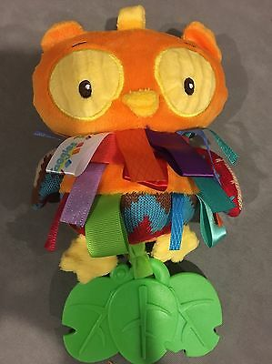 Taggies wHoo Loves You Teether, Owl, baby toy  no tags