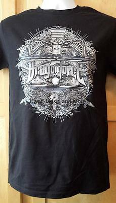 "DRAGONFORCE T-Shirt  ""Shield""  Official/Licensed  Size: Small  NEW"
