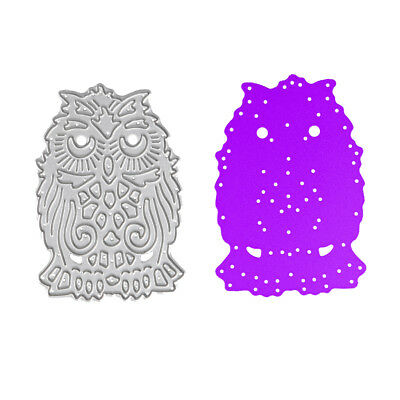 Owl Design Metal Cutting Dies For DIY Scrapbook Embossing Photo Album Card Craft