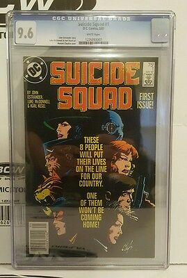 Suicide Squad #1 CGC 9.6 1987 :HIGHEST GRADED NEWSSTAND ON EBAY - NONE IN 9.8