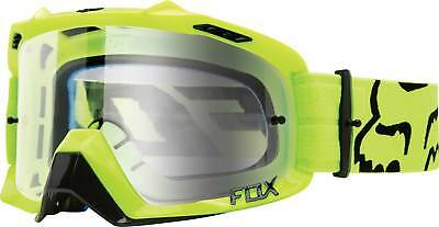 2017 Fox Racing Air Defence Race Goggles - MX ATV Motocross Off-Road Dirt Bike