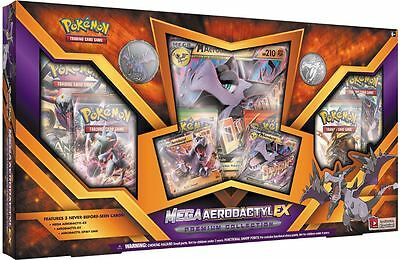 Genuine Pokemon Trading Card Game Mega Aerodactyl EX Premium Collection *NEW*