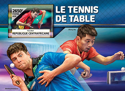 CENTRALAFRICA 2016 ** Table Tennis Tischtennis Timo Boll S/S #504b