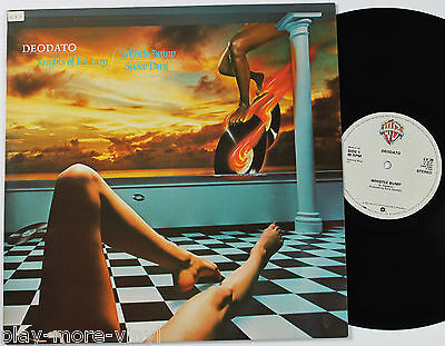 "DEODATO Whistle Bump/Knights of Fantasy/Space Dust 12"" vinyl UK 1980 Warners NM!"