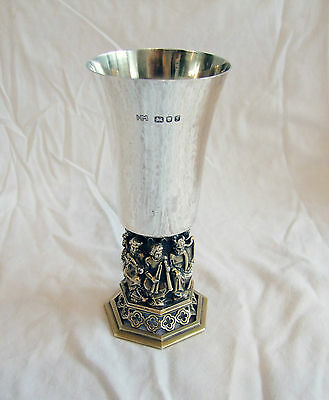 SALE: AURUM Solid Silver Hallmarked Goblet LINCOLN CATHEDRAL No.34 of 700 (325g)