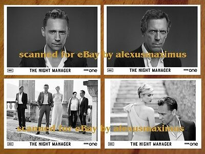 THE NIGHT MANAGER rare PRESS KIT with 40 B&W PHOTOS Tom Hiddleston HUGH LAURIE