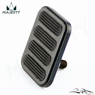 """Polished  Street Rod Style Brake Pedal Pad For Chevy Ford Mopar 3-1//8/"""" x 2/"""""""