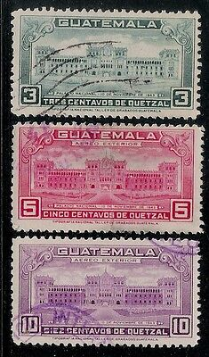 GUATEMALA 1945 Old Stamps - National Palace