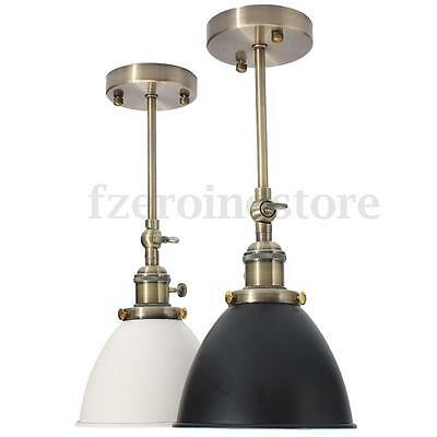MODERN Vintage Antique Industrial Bowl Sconce Cofe Rustic Wall Light Lampshade
