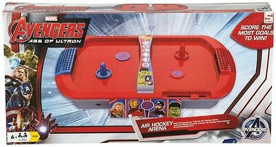 AVENGERS AGE OF ULTRON Air Hockey Arena Table Top Game Kids Toy Family