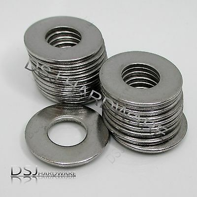 Imperial Flat Washers - A2 Stainless Steel - 3/16 - 1/4 - 5/16 - 3/8 Inch