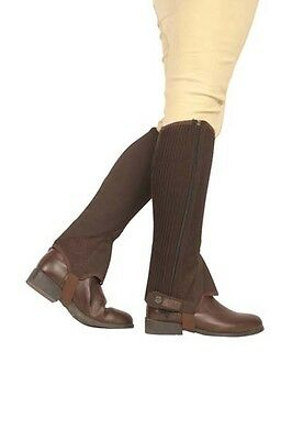 Dublin ADULTS & CHILDS Easy-Care MESH Half Chaps ALL SIZES