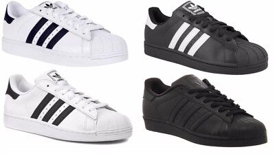 promo code cf657 7ab7e Adidas Originals New Men s Superstar Foundation Trainers Shoes