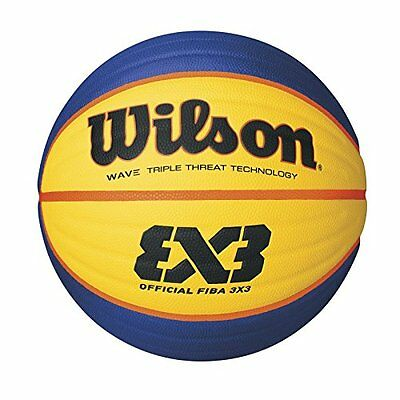 Wilson Official FIBA Game Basketball, 3 x 3