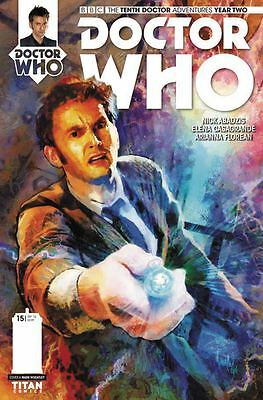 Doctor Who 10Th Year Two #15 Cvr A Wheatley