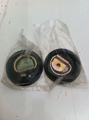 horse box / lorry / stable  tie up rings, new,  price is for 2