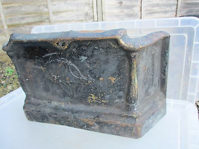Antique Brass Tidy Betty Fireplace Front Grate Grill vintage Old Screen