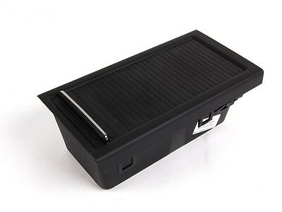 Bmw New 3 Series E46 Genuine Centre Center Tray Storage Rollover Black 7043093