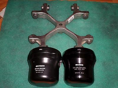 Beckman GH 3.8 Swing Bucket Rotor and 2 Buckets  #206565