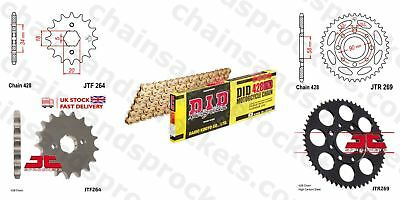 DID- All Gold Heavy Duty Chain Kit 428HDGG 126 fits Kymco 125 Pulsar 01-05