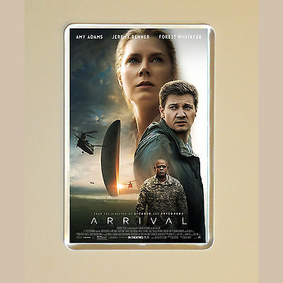 Arrival - Amy Adams - Jeremy Renner - Forest Whitaker - Photo Fridge Magnet #1