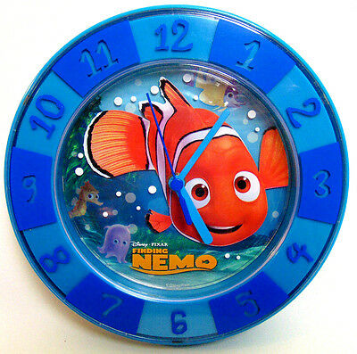 "Rare Playworks Disney Pixar FINDING NEMO Table Top Desk WALL CLOCK 8"" inches FUN"