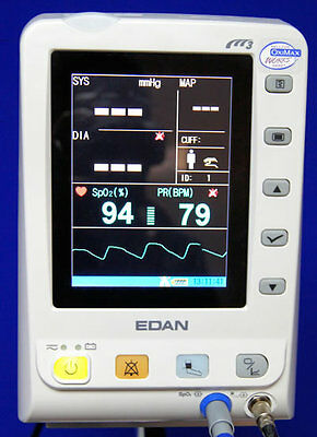 New Edan M3 Blood Pressure With Nelcor Pulse Oximeter Monitor Special Offer
