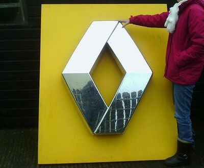 LARGE Renault WALL Advertising  sign / NEON LIGHT